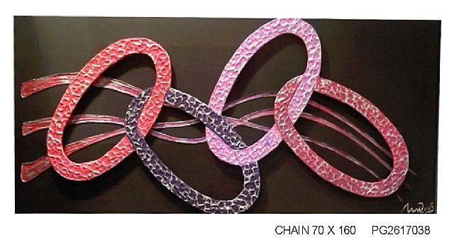 Πίνακας ζωγραφικής Gallerista by Repanis Chain-Chain