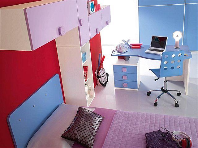Παιδικό-Εφηβικό δωμάτιο Spar Arreda Web-W-19