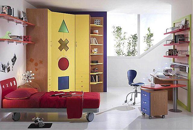 Παιδικό-Εφηβικό δωμάτιο Spar Arreda Web-Web 317