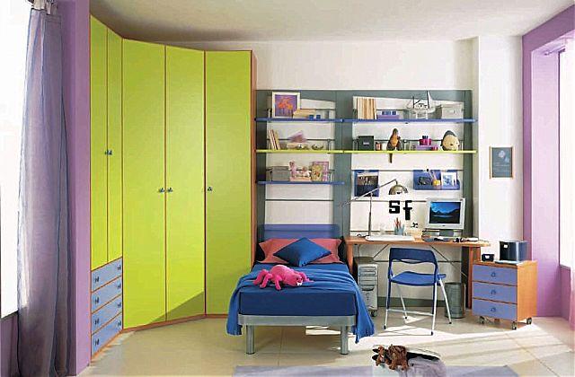 Παιδικό-Εφηβικό δωμάτιο Spar Arreda Evolution-Evolution 335