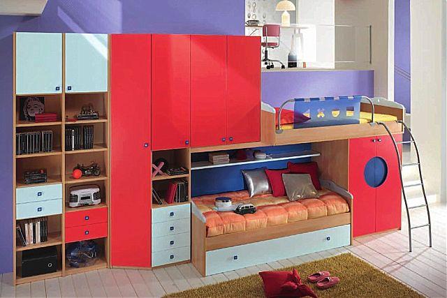 Παιδικό-Εφηβικό δωμάτιο Spar Arreda Web-Web 507