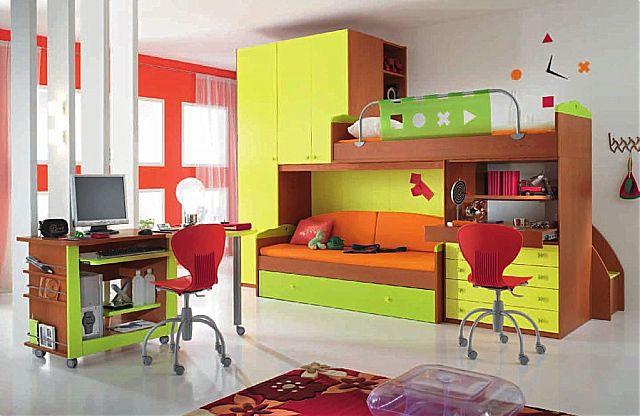 Παιδικό-Εφηβικό δωμάτιο Spar Arreda Web-Web 508