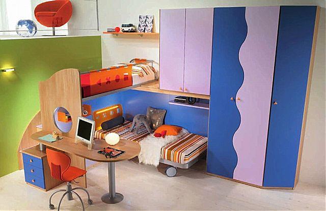 Παιδικό-Εφηβικό δωμάτιο Spar Arreda Web-Web 512