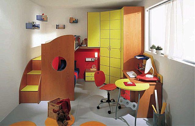 Παιδικό-Εφηβικό δωμάτιο Spar Arreda Evolution-Evolution 521