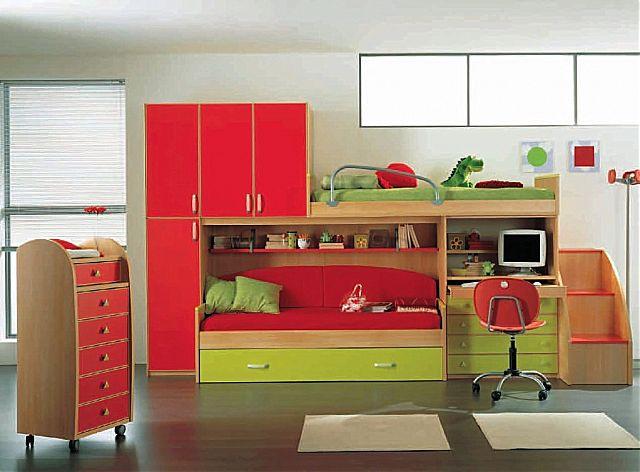 Παιδικό-Εφηβικό δωμάτιο Spar Arreda Evolution-Evolution 522