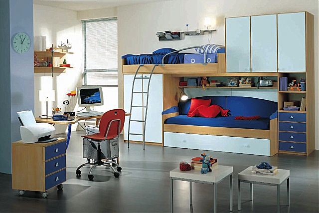 Παιδικό-Εφηβικό δωμάτιο Spar Arreda Evolution-Evolution 525