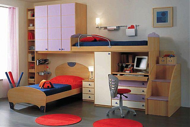 Παιδικό-Εφηβικό δωμάτιο Spar Arreda Evolution-Evolution 524