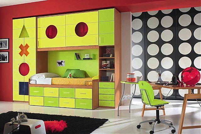 Παιδικό-Εφηβικό δωμάτιο Spar Arreda Evolution-Evolution 543