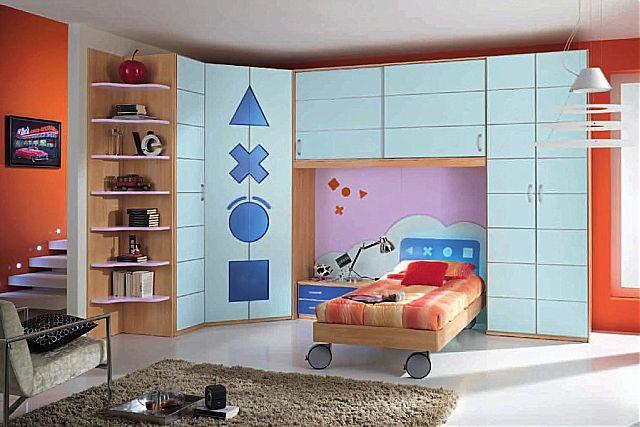 Παιδικό-Εφηβικό δωμάτιο Spar Arreda Evolution-Evolution 544