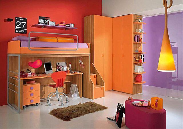 Παιδικό-Εφηβικό δωμάτιο Spar Arreda One-One 224