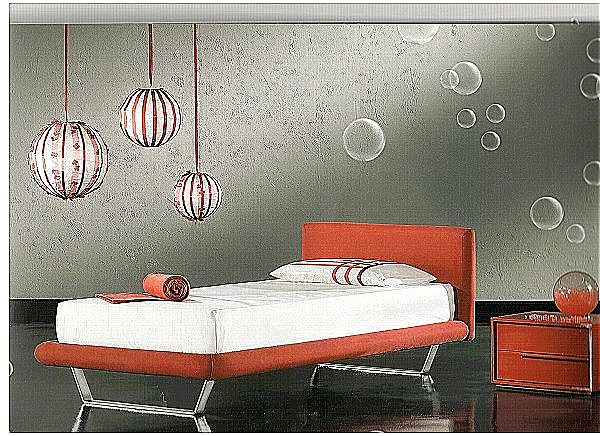 Παιδικό κρεβάτι επενδυμένο Sofa And Style Dritto kid-Dritto kid