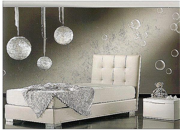Παιδικό κρεβάτι επενδυμένο Sofa And Style Capri kid-Capri kid