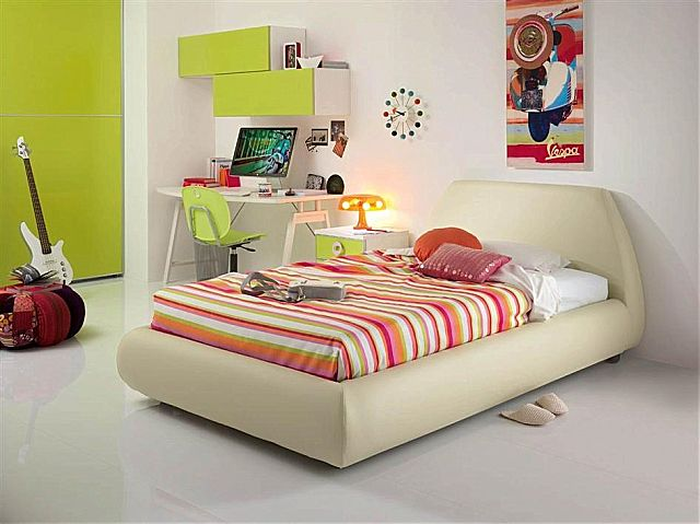 Παιδικό κρεβάτι επενδυμένο Spar Arreda Web-Letto impottito Gaudi