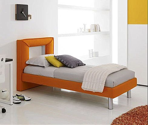 Παιδικό κρεβάτι επενδυμένο Spar Arreda Web-Testiera Frame impottita giroletto impottito