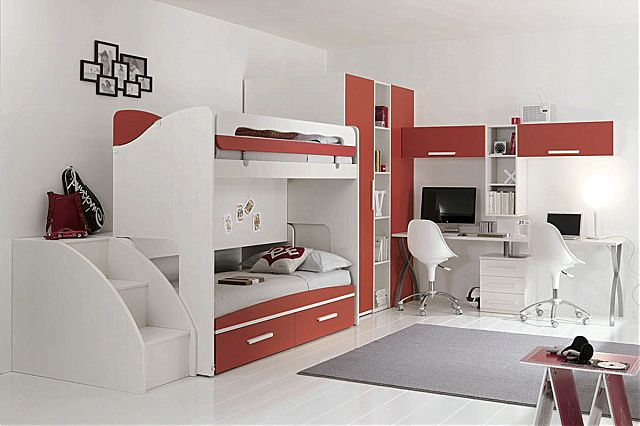 Παιδικό-Εφηβικό δωμάτιο Spar Arreda Web-Web 607