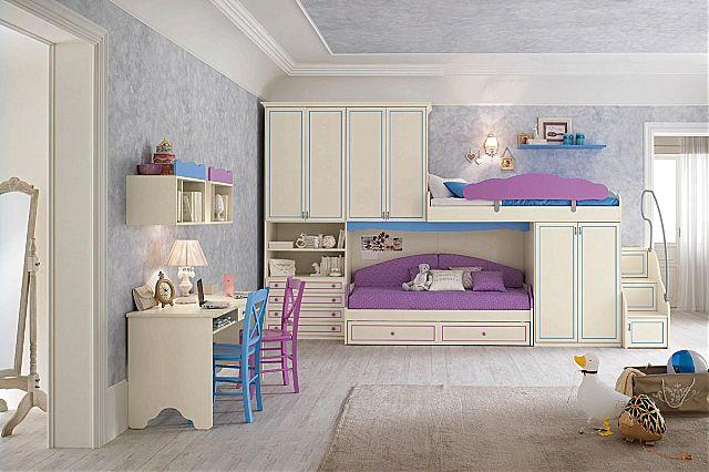 Παιδικό-Εφηβικό δωμάτιο Spar Arreda Romantica-Romantica 110