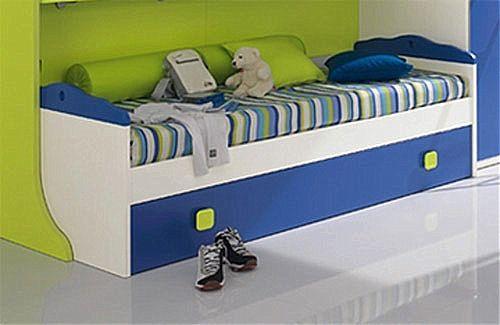 Παιδικό κρεβάτι καναπές  Spar Arreda Web-Surf divano con rete estraibile