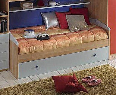 Παιδικό κρεβάτι καναπές  Spar Arreda Web-Surf Divano con cassettone