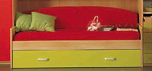 Παιδικό κρεβάτι καναπές  Spar Arreda  Evolution-Floppy Divano con rete estraibile