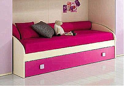 Παιδικό κρεβάτι καναπές  Spar Arreda One-Quadro Inverso con 2o Rete estr
