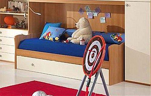 Παιδικό κρεβάτι καναπές  Spar Arreda One-Dune Divano con 2o Rete