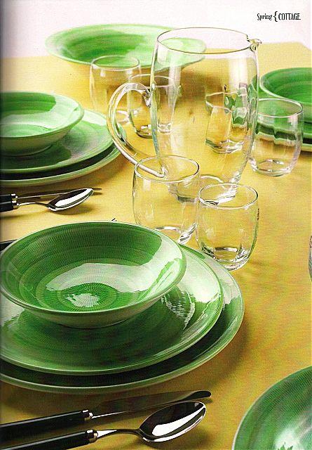Σερβίτσιο πιάτων-φαγητού Tiffani Cottage-Spring