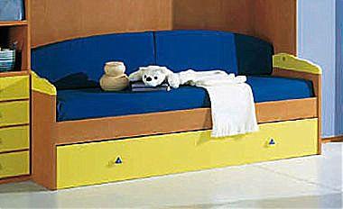 Παιδικό κρεβάτι καναπές  Spar Arreda Web-Surf Divano Letto con rete estraibile