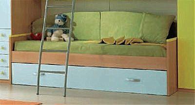 Παιδικό κρεβάτι καναπές  Spar Arreda Web-Floppy Divano con rete estraibile