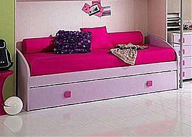 Παιδικό κρεβάτι καναπές  Spar Arreda One-Inverso Divano con 2o Rete