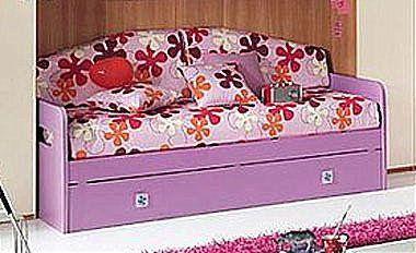 Παιδικό κρεβάτι καναπές  Spar Arreda One-Space Divano con 2o Rete