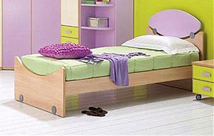 Παιδικό Κρεβάτι Spar Arreda Web-Elisse 90 con pediera faggio