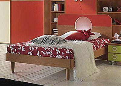Παιδικό Κρεβάτι Spar Arreda Web-Oblo 125 Giro piedi conici