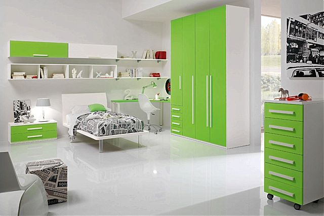 Παιδικό-Εφηβικό δωμάτιο Spar Arreda Web-W02