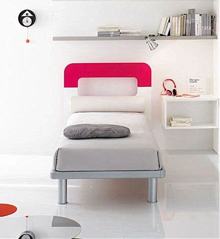 Παιδικό Κρεβάτι Spar Arreda Web-Oval 90 SP40 GMT