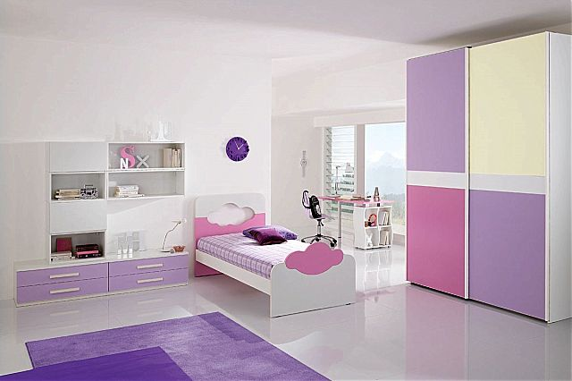 Παιδικό-Εφηβικό δωμάτιο Spar Arreda Web-W07