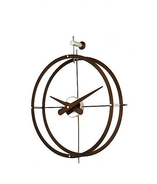 Ρολόι τοίχου Nomon Walnut-2 Puntos