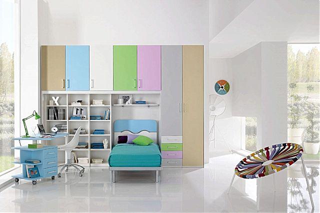 Παιδικό-Εφηβικό δωμάτιο Spar Arreda Web-W50