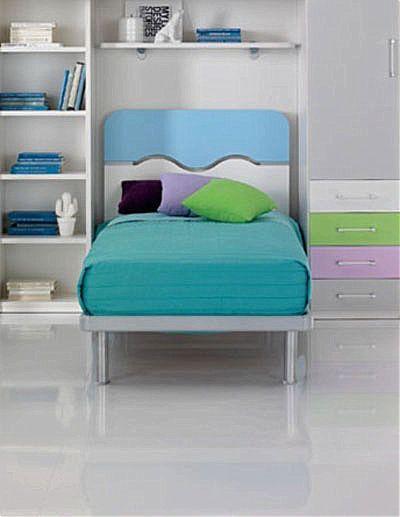 Παιδικό Κρεβάτι Spar Arreda Web-Hill 90 sp25 GMT
