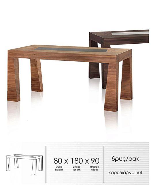 Τραπέζι τραπεζαρίας Sofa And Style Esso -T131