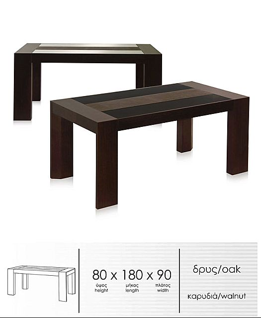 Τραπέζι τραπεζαρίας Sofa And Style Wido -T127
