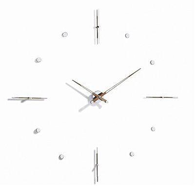 Ρολόι τοίχου Nomon Walnut-Mixto n