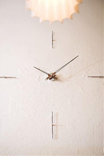 Ρολόι τοίχου Nomon Walnut-Merlin 4n