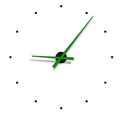 Ρολόι τοίχου Nomon OJ-OJ green