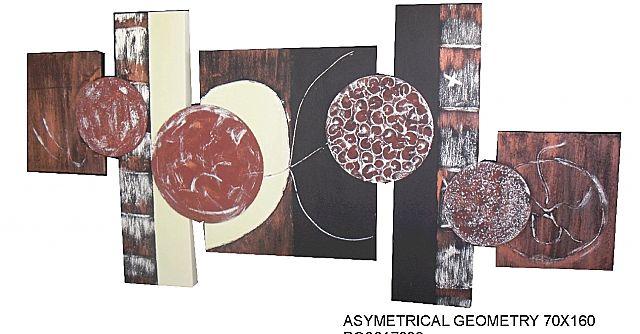 Πίνακας ζωγραφικής Gallerista by Repanis Asymetrical-