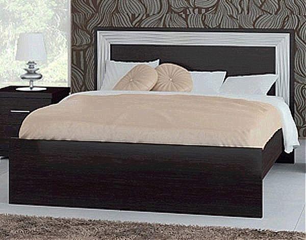 Κρεβάτι ξύλινο Oikia kantis Artemis-Νο Ε11 Wenge
