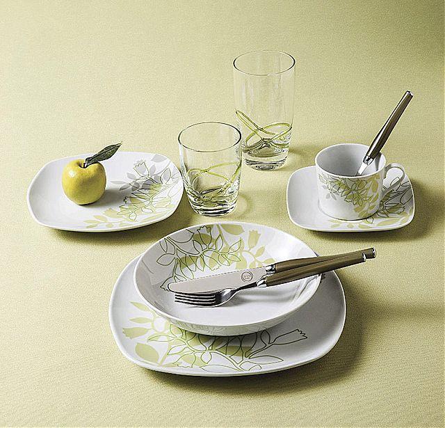 Σερβίτσιο πιάτων-φαγητού Cryspo Trio Forest-Forest