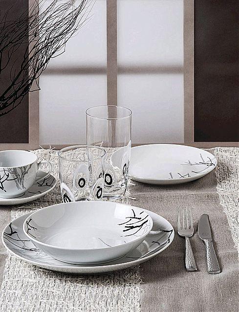 Σερβίτσιο πιάτων-φαγητού Cryspo Trio Sorino-Sorino