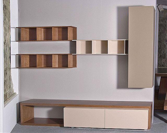 Συνθέση τοίχου σαλονιού Sofa di Rodi  Monica-Monica