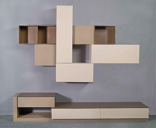 Συνθέση τοίχου σαλονιού Sofa di Rodi  Perfecto-Perfecto