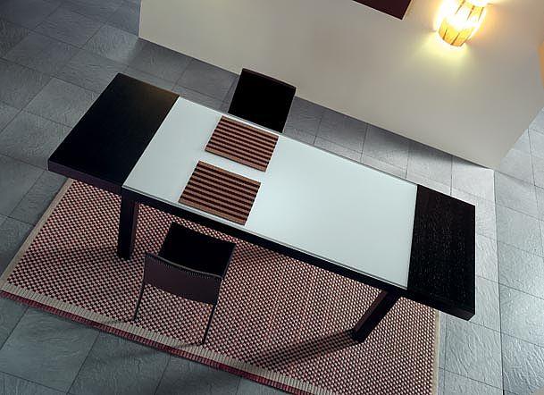 Τραπέζι τραπεζαρίας Oikia kantis New  Flat V-New  Flat V